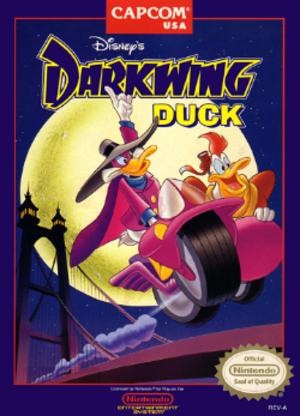Darkwing Duck (Capcom) - NES boxart
