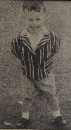 David Pearce (boxer) - Image: David Pearce Boxer 3 yrs