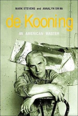 De Kooning: An American Master - Image: De Kooning An American Master book cover