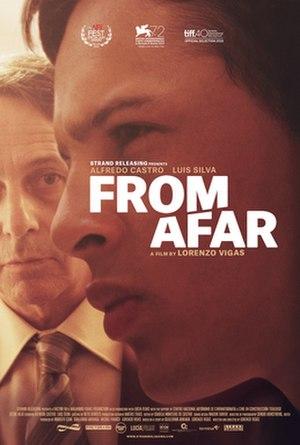 From Afar (film) - Film poster