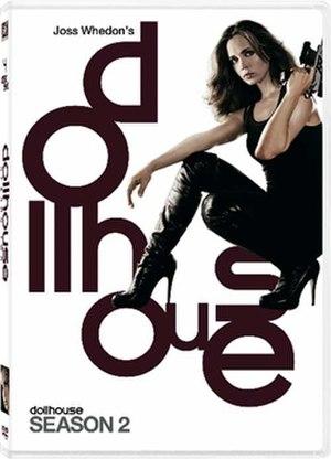 Dollhouse (season 2) - Image: Dollhouse S2DVD