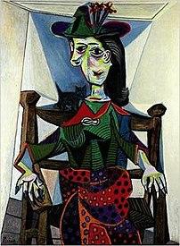 Dora Maar au Chat, 1941