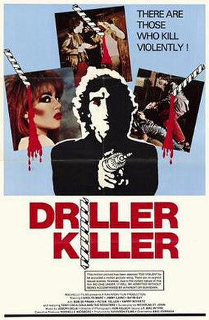 The Driller Killer - Theatrical release poster