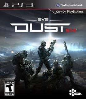 <i>Dust 514</i> 2013 free-to-play first-person shooter video game