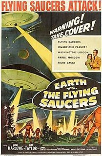 <i>Earth vs. the Flying Saucers</i> 1956 US science fiction film