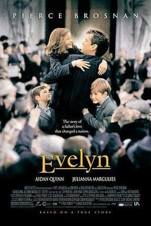 Evelyn (film) - United States theatrical release poster