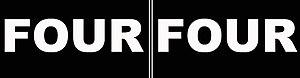 FOUR FOUR - Image: FOUR FOUR logo