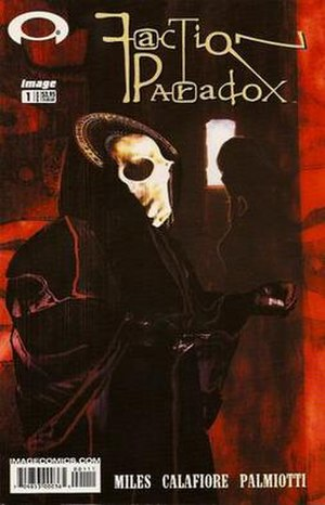 Faction Paradox - Cover of the first comics issue