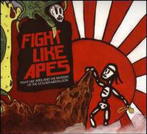 Fight Like Apes and the Mystery of the Golden Medallion - Image: Fight Like Apes and the Mystery of the Golden Medallion album cover