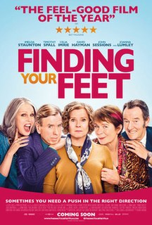 <i>Finding Your Feet</i> 2017 film by Richard Loncraine