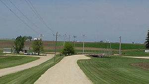 Field of Dreams - The baseball field from the film