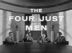 Four Just Men titlecard