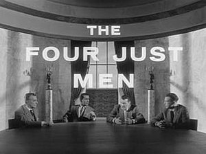 The Four Just Men (TV series) - Image: Four Just Men titlecard