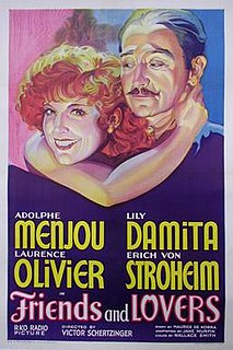 <i>Friends and Lovers</i> (film) 1931 film