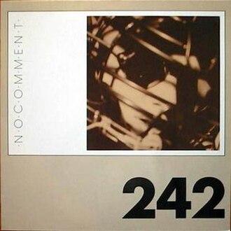 No Comment (Front 242 album) - Image: Front 242 No Comment 1984