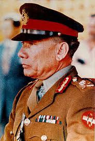 Chairman Joint Chiefs of Staff Committee - Image: General Rahimuddin Khan