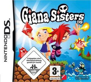 Giana Sisters DS - Giana Sisters DS cover art.