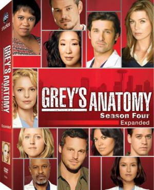 Grey's Anatomy (season 4) - Image: Grey's Anatomy Season Four DVD Cover