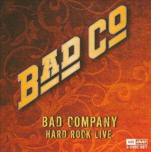 Hard Rock Live (album) - Image: Hardrocklivebadco