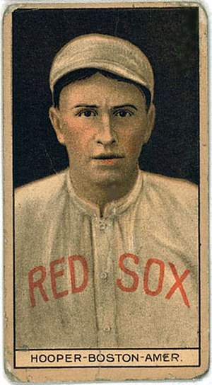 Harry Hooper - 1912 baseball card
