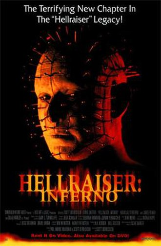 Hellraiser: Inferno - Home video poster