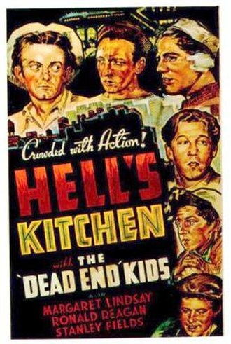 Hell's Kitchen (1939 film) - Theatrical release poster