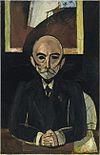 Henri Matisse, 1916-17, Auguste Pellerin II, oil on canvas, 150.2 x 96.2 cm, Centre Georges Pompidou, Paris.jpg