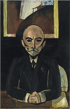 Musée National d'Art Moderne - Image: Henri Matisse, 1916 17, Auguste Pellerin II, oil on canvas, 150.2 x 96.2 cm, Centre Georges Pompidou, Paris