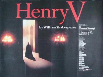Henry V (1989 film) - Theatrical release poster