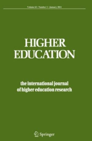 Higher Education (journal) - Image: Higher Education (journal)