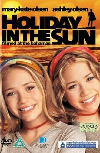 Holiday in the Sun (film) - DVD cover