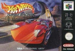 Hot Wheels Turbo Racing - European Nintendo 64 cover art