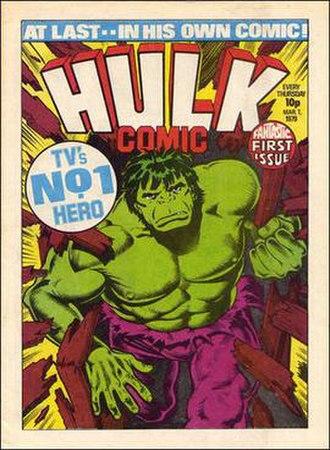 Hulk Comic - Image: Hulk Comic 01