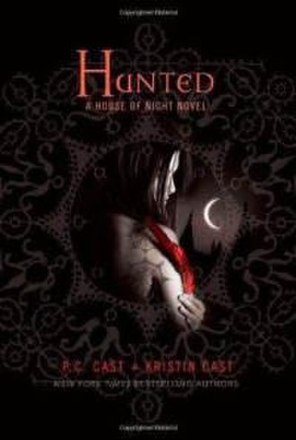 Hunted (Cast novel) - The first edition cover of Hunted
