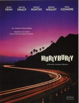 Hurlyburly (film) - Image: Hurlyburly Film Poster