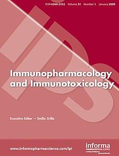 <i>Immunopharmacology and Immunotoxicology</i> Academic journal
