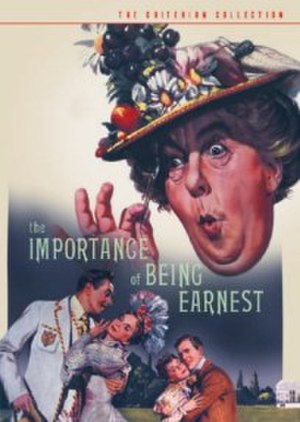 The Importance of Being Earnest (1952 film) - Criterion Collection DVD cover