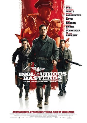 Inglourious Basterds - Theatrical release poster
