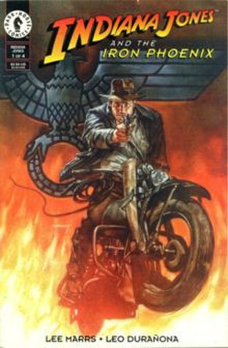 Indiana Jones and the Iron Phoenix - Trade paperback cover