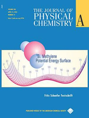 Journal of Physical Chemistry A - Image: JPCA cover