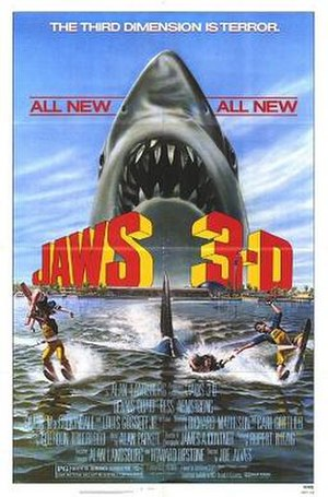 Jaws 3-D - Film Poster by Gary Meyer