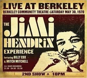 Live at Berkeley - Image: Jimi Hendrix Live At Berkeley