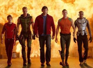 Justice League (<i>Smallville</i>) Fictional group of superheroes on the television series, Smallville