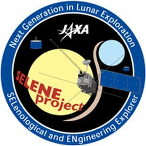 Japanese Lunar Exploration Program - SELENE mission logo.
