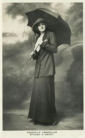 Kendall & Sons - A Kendalls publicity photo from the early 20th century