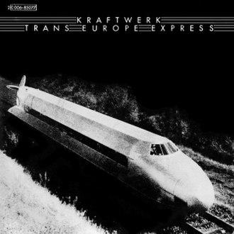 Trans-Europe Express (song) - Image: Kraftwerk Trans Europe Express single cover art