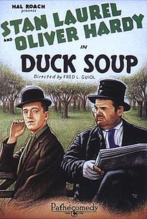 <i>Duck Soup</i> (1927 film) 1927 film directed by Fred Guiol