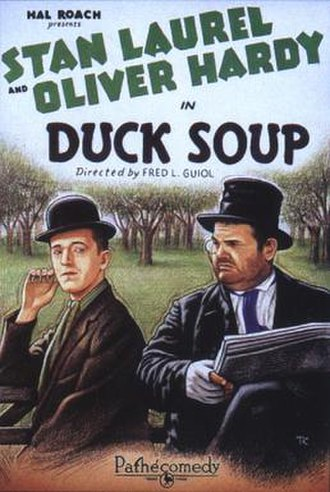 Duck Soup (1927 film) - Theatrical release poster