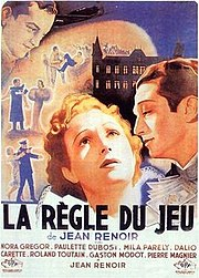 La regle du jeu (Jean Renoir), another candidate for the best French film