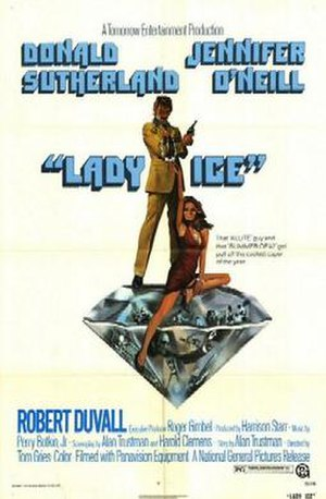 Lady Ice - Theatrical release poster